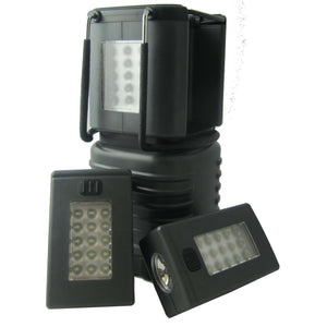 Uni-Com 62936 LED Lantern with Removable Torches