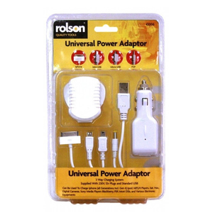 Rolson 43006 4 in 1 Charger / Adaptor