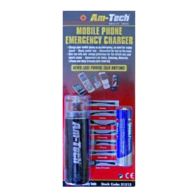 Am-tech S1513 Emergency Mobile Phone Charger