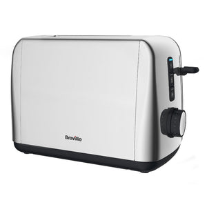 Breville VTT740 Outline Collection Toaster 2 Slice Polished Stainless Steel