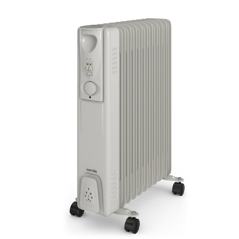 Warmlite WL43005Y Tall Oil Filled Radiator 2500W 11 Fin