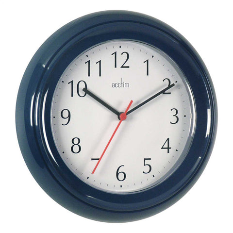 Acctim 21419 Wycombe Wall Clock 22cm - Blue