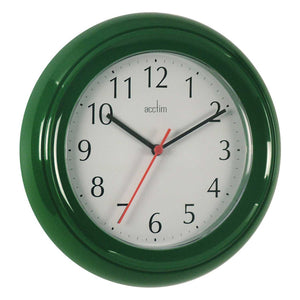 Acctim 21415 Wycombe Wall Clock 22cm - Green