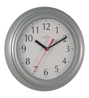 Acctim 21417 Wycombe Wall Clock 22cm - Silver