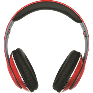Infapower X302RED Wired Stereo Headphones - Red