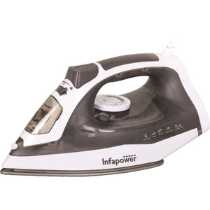 Infapower X602 Premium Full Function Steam Iron 2400w - Grey & White