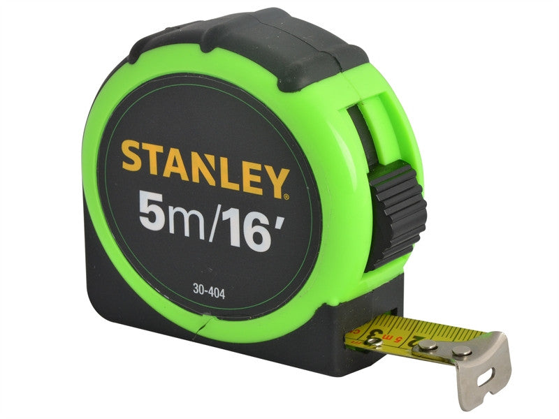 Stanley STA130404 5m/16ft Tape Measure - Various Colours