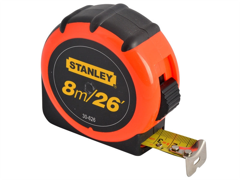 Stanley 8m/26ft Tape Measure - Various Colours