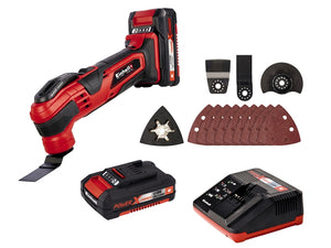 Einhell Cordless Multi-Tool Kit with 2 x Batteries