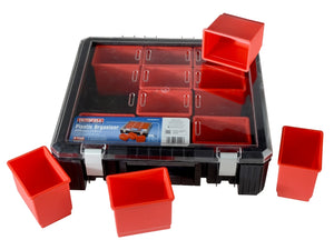 Faithfull FAITBORG15 12 Compartment Plastic Organiser