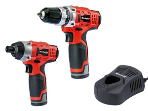Einhell 12V Impact Driver & Drill Twin Pack