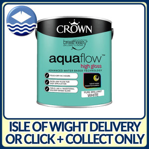 Crown Aquaflow High Gloss White 750ml