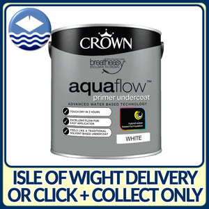 Crown Aquaflow Primer Undercoat White 750ml