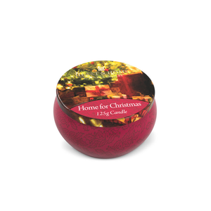 Heart & Home Scented Candle In A Tin - Assorted Scents