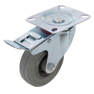Fixman 509024 Swivel Braked Castor 100mm
