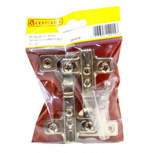 Centurion CH157P Pair of Sprung Concealed Hinges - NP 90deg 26mm