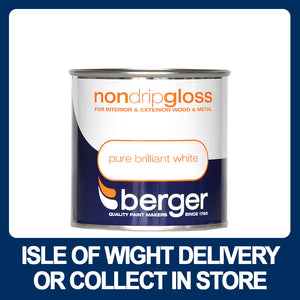 Berger Non-Drip Gloss 250ml - Various Colours