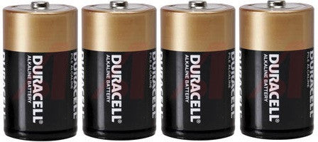 Duracell MN1300 1.5V D size Battery - Pack of 4
