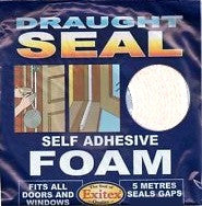 Exitex 1.01.0380.0005.35 Self Adhesive Foam Draught Excluder 5m