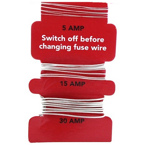 Fuse wire - 5 , 15 , 30 amp
