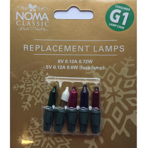 Noma Classic 0344M Replacement Lamps - G1 Multicoloured