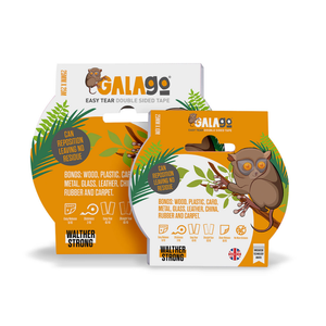 Galago Easy Tear Double Sided Tape - Various Sizes