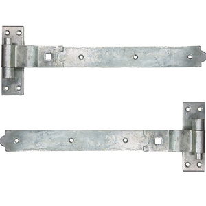Galvanised Cranked Hook & Band Hinges - Various Sizes