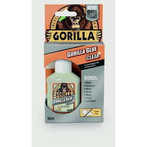Gorilla 1244002 Glue Clear 50ml