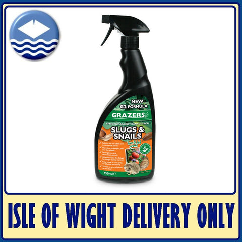 Grazers G2 Effective Against Slugs/Snails 750ml Spray RTU