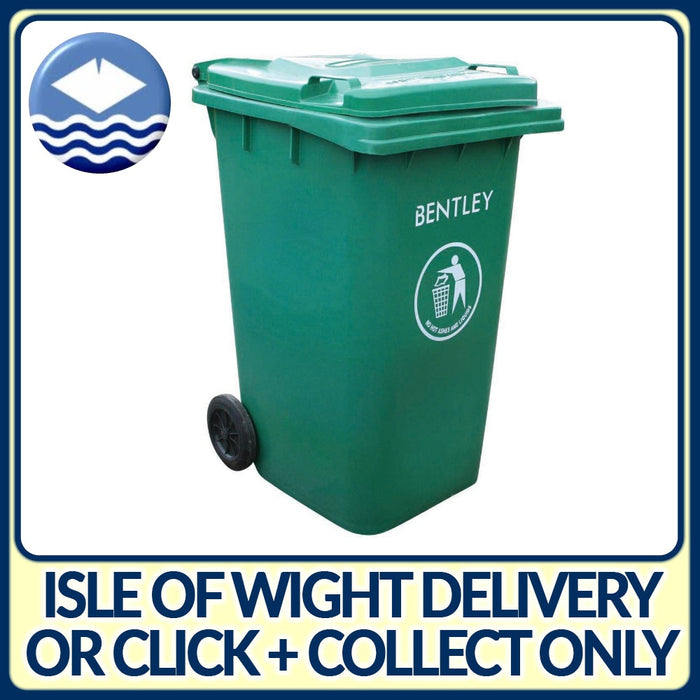 240LTR Green Wheelie Bin / Dustbin