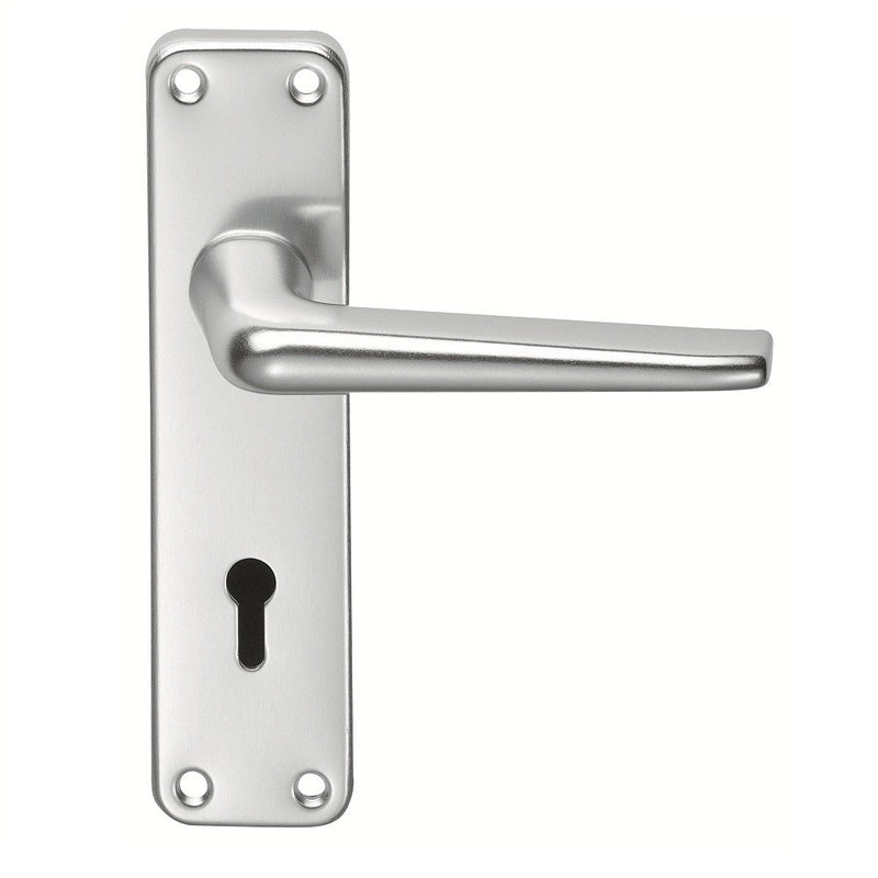 Aluminium Lever Lock with key hole