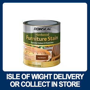 Ronseal Ultimate Protection Hardwood Garden Furniture Stain 750ml