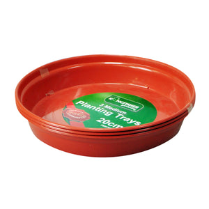 Kingfisher Round Plant Pot Trays - Various Sizes