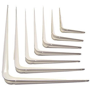 London Pattern Shelf Brackets - White