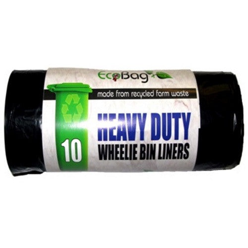 Ecobag 227 Heavy Duty Wheelie Bin Liners 240Ltr - Pack of 10