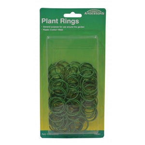 Andersons PB063 PVC Coated H/D 27mm Plant Rings - pk 100