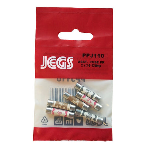Jegs PPJ110  Assorted Fuse Pack