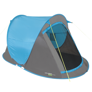 Yellowstone TT010 2 Person Fast Pitch Tent - Blue
