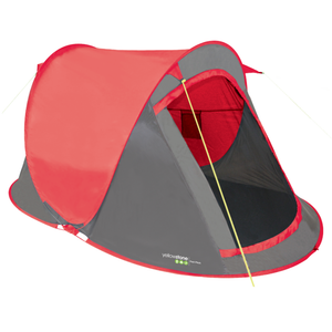 Yellowstone TT010 2 Person Fast Pitch Tent - Red