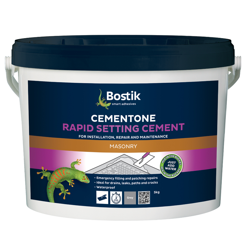 Bostik Cementone Rapid Setting Cement- Various Sizes