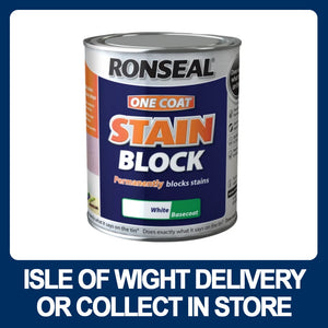 Ronseal One Coat Stain Block White Basecoat