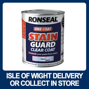 Ronseal One Coat Stain Guard Clear Coat Matt