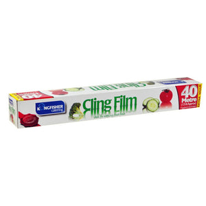 Kingfisher KCCLING3 Cling Film 30cm Wide x 40Mtr Roll