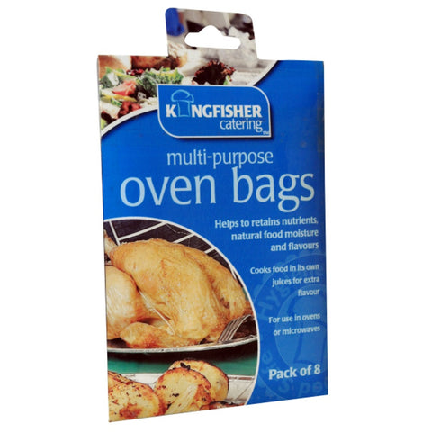 Kingfisher OVENB Multi-Purpose Oven Bags Pkt8