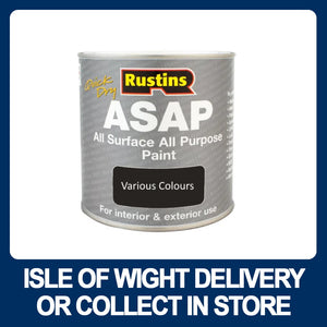 Rustins ASAP Paint SATIN Finish - Various Colours