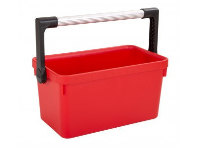 Wham 31701 Red Tool Caddy & Metal Handle