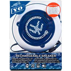 Urbanz Yo Rechargeable Speaker White & Blue