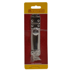 "Centurion VB107P Flat Sliding Door Bolt 6"" - Chrome Plated"