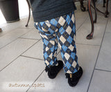 Japanese Monkey Pants - JAP3763 Argyle
