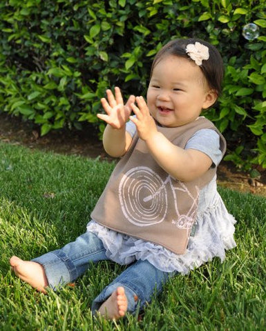 Organic Waterproof Bibs Made in USA